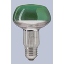 "Лампы цветные зеркальные ""GE"",""OSRAM""(цвета:красный,зеленый,синий,желтый) R50(E-14),R63(E-27),R80(E-27)"