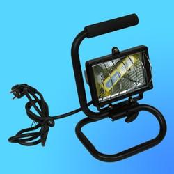 Прожектор галогенный Camelion 0103 FLН-150W переносной на подставке, в комплекте с лампой, IP 54