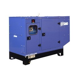 Дизельная трехфазная электростанция SDMO Montana J88K в кожухе