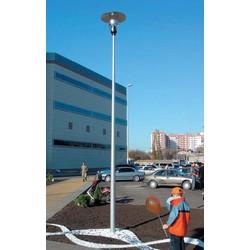 Уличные фонари. Опора освещения алюминиевая конусная 6 м