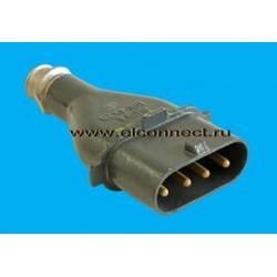 Вилка кабельная ШК 4х25 6ДК 266007 (аналог 6ДК.801-2)
