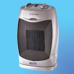 Тепловентилятор DELFIN HFPD-1Y керамический (900/1500 Вт) 4-х поз., поворотный, термостат, защита