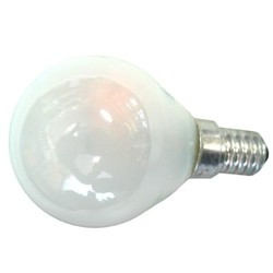 Лампа накаливания Philips Е14  40 Вт шар матовый, Р45FR