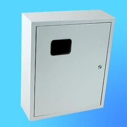 Щиток навесной под 3-х ф.индукционный счётчикЩРУ-3Н30замок+окно(500х400х155)
