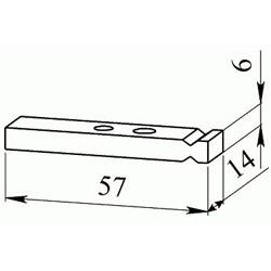 Контакт контактора КПВ 602 подвижный