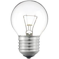 Лампа накаливания Philips Е27  40 Вт шар, Р45CL