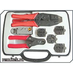 Набор инструмента для работы с коаксиальным кабелем HT-330K