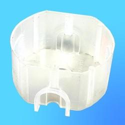 Коробка подрозетная СП К-207 кругл.пласт.,75*D75*40 (Мин)