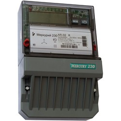 Меркурий 230 АR-02 R 10-100А; 3*220/380В; 1,0/2,0 (цена от 4.055 руб. до 3.357 руб.)