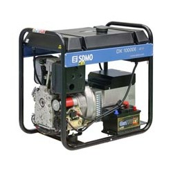 Дизельгенератор SDMO DX 10000E. Потративный дизельный генератор 8 кВт.