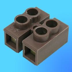 Колодка клеммная двухконтактная 2,5-006-02 (В)