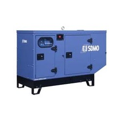 Дизельная однофазная генераторная установка SDMO Pacific I T12KM в кожухе