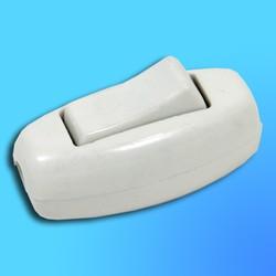 Выключатель для установки на шнур  90302700 белый бакалитовый (Vi-Ko)
