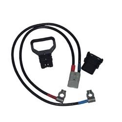 Соединительные провода с клеммами(пара) 1,5м