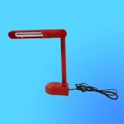 Светильник настольный Camelion KD-001, G23, красный, тип лампы - энергосберегающая 9Вт, складной