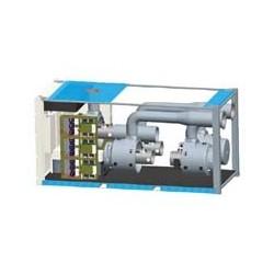 Микротурбинная тепловая электростанция, микротурбинная установка Capstone C1000