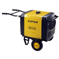 Электростанци  бензинова  инверторного типа Kipor KGE7000THi