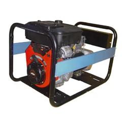 Бензин генератор SDMO LX 10015T. Портативный бензогенератор 7,4 кВт.