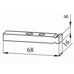 Контакт контактора КПВ 603 подвижный