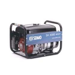 Бензин генератор SDMO SH 3000. Портативный бензогенератор 3.0 кВт.