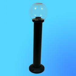Светильник садово-парковый столбик 60см 95603120 поликорбонат янтарный 60Вт Е27 IP43 черн