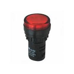 AD16-22D/S Светосигнальная арматура красная 220V (светодиод)