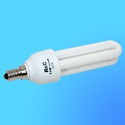 Лампа энергосберегающая R&С LUX 2U Е-14 11Вт (2700)