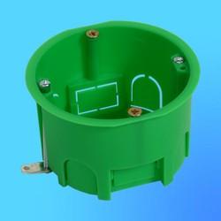 Коробка установочная КУ1202 для полых стен, метал. лапки 68х45 мм(HEGEL)