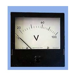 Щитовые приборы: вольтметры, амперметры, фазометры, частометры...
