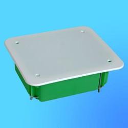 Коробка разветвит. КР1203 для полых стен прямоуг. с крышкой 120х100х50 мм метал.лапки(HEGEL)