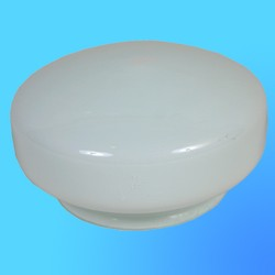 "Плафон-стекло ""Таблетка"" D=150 мм НБ-221/2  габарит 190х110х150 мм  (Никольск)"