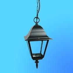 Светильник садово-парковый 4405 четырехгр.конструкция,100Вт Е27 IP33 1000х183 (металл+стекло) черный