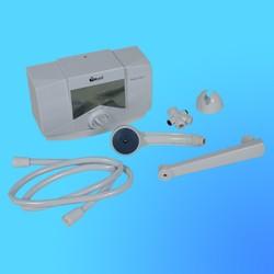 """Проточный водонагреватель """"Timberk""""WHEX-6 OSC OptikumPRO, 5,5кВт, душ+кран, 3 режима(2,2-3,3-5,5)"""