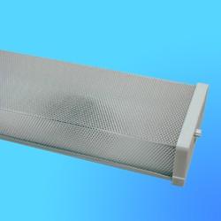 Светильник ЛПО 98-2х40-002 некомпенсир.,полистирол  (СТЭЛТЗ)