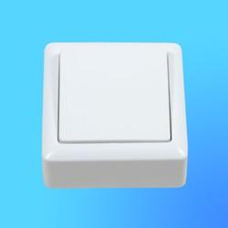 """Выключатель 1 ОП ВА16-131, белый, """"Хит"""" (Wessen)"""