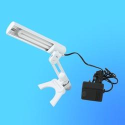 Светильник настольный Camelion KD-018 (019), G23, белый, тип лампы - энергосберегающая 9Вт, складной