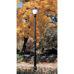 Уличные фонари. Опора освещения металлопластиковая 3,32 м