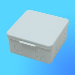 Коробка эл. монтажная ОП С3В100-002 пласт. 100*100*55 без отверстий с 3 муфтами (GUSI)