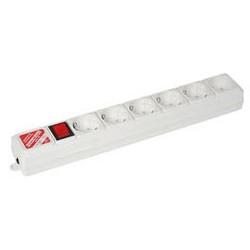 SPG(5+1)-B-6/20 Сетевой фильтр Power Cube B 2м, 5+1 розетка, серый, 20шт./уп.