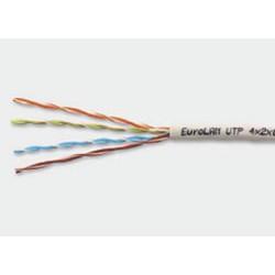 EuroLan, UTP кабель, 4-парный, кат. 5e, коробка 305м - 19C-U5-03-B305