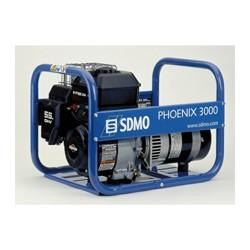 Бензин генератор SDMO PHOENIX 3000. Портативный бензогенератор 2.7 кВт.