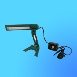 Светильник настольный Camelion KD-018 (019) G23, зеленый, тип лампы - энергосберегающая 9Вт,складной