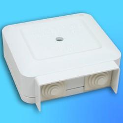 Коробка клеммная КлК-5С, для присоед-я проводов к бытовым эл.плитам, пылевлагозащищённая (Wessen)