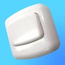 Кнопка звонковая квадратная А10,4-127 АБС (Мин)