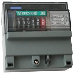 Меркурий 201.5 5-60А; 220В; 1,0; МОУ (цена от 620 руб. до 530 руб.)
