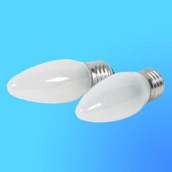 Лампа накаливания Philips Е27  40 Вт свеча матовая (2 шт в упаковке), В35FR