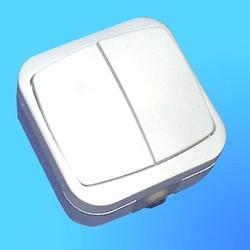 Выключатель 2 ОП А5-10-142 АБС брызгозащищенный (Полтава)