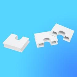 """Перемычка ПР для соединения коробок переходников КП-1 в блок, белая, """"Рондо"""" (Wessen)"""