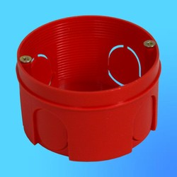 Коробка установочная КУ1106 для сплошных стен круглая 68х40 мм(HEGEL)