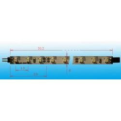 Полоса красная PL-SM12UR 12VDC (312мм, 12 SMD светодиода, 14 лм, 120°, 0,86Вт)